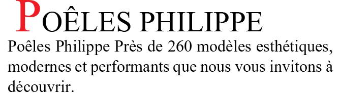 Poêles Philippe